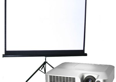 Projector & Screen
